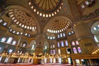 Photo: Błękitny Meczet - wnętrza