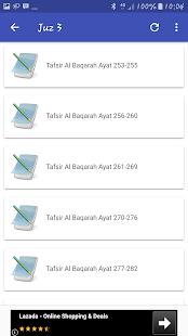 Tafsir Al Qur'an Juz 1 - 5 - náhled
