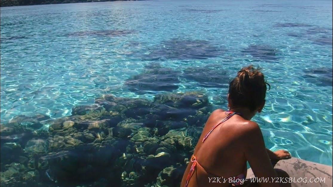 Le acque trasparenti di Motu Araara - Huahine