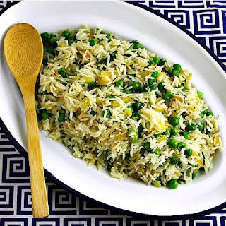 Herbed Rice and Peas.