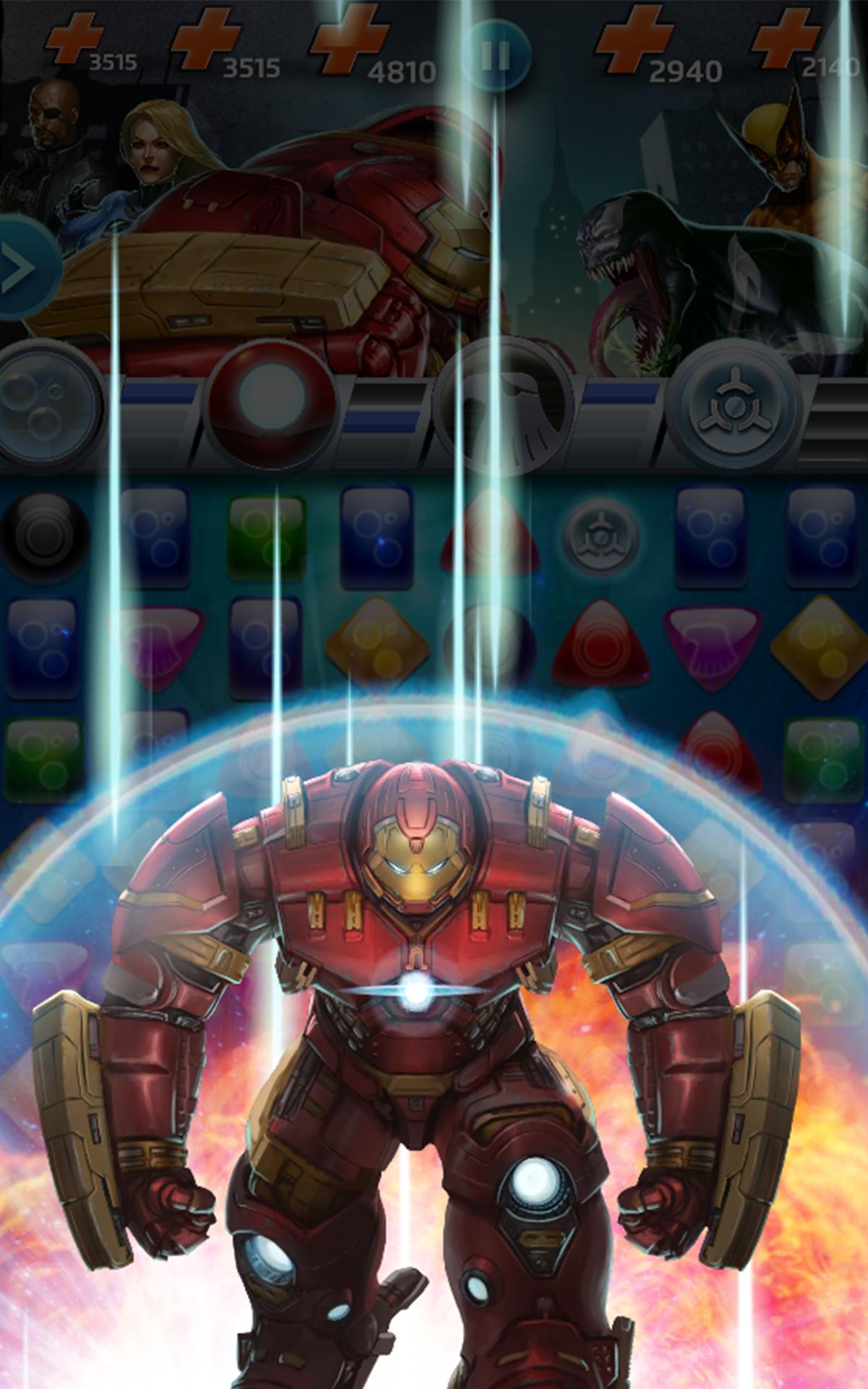 Marvel Puzzle Quest screenshot #18