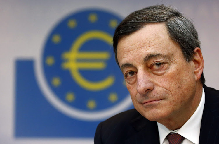 Mario Draghi, president of the European Central Bank. Picture: REUTERS