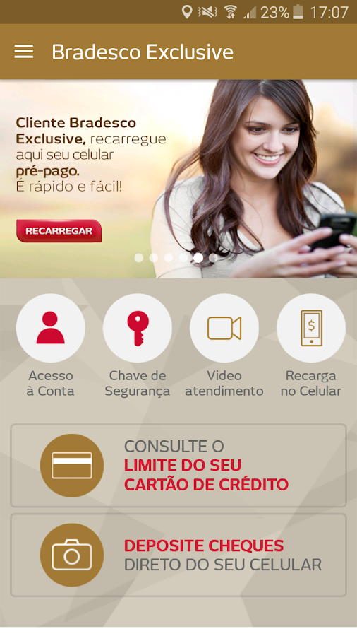 Bradesco Exclusive- screenshot