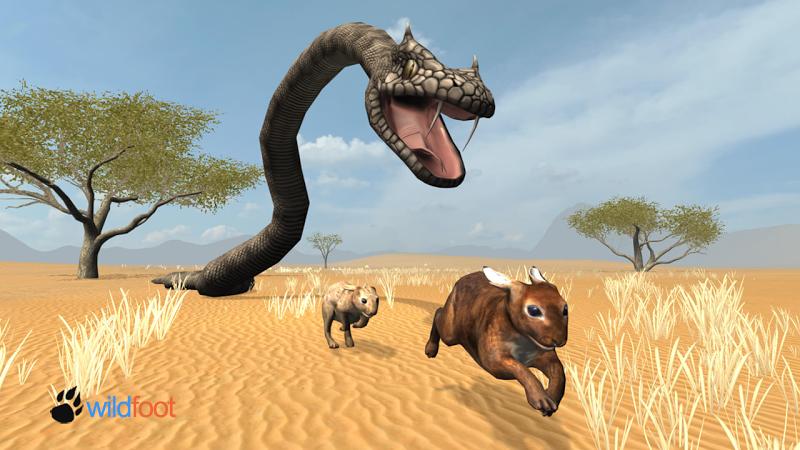 Скриншот Snake Chase Simulator