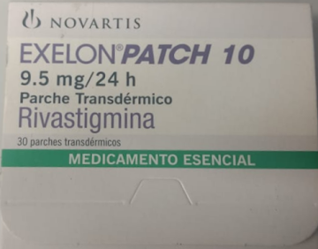 EXELON PATCH10 9.5MG/24