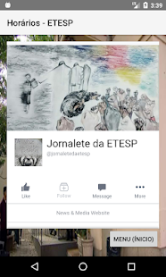 Horários - ETESP - náhled