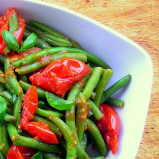 Tomato Stewed Green Bean (Fagiolini in Umido) - pressure cooker.