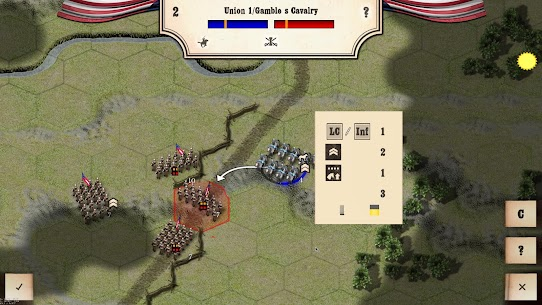 Civil War: Gettysburg Mod Apk Download For ANdroid and Iphone 5