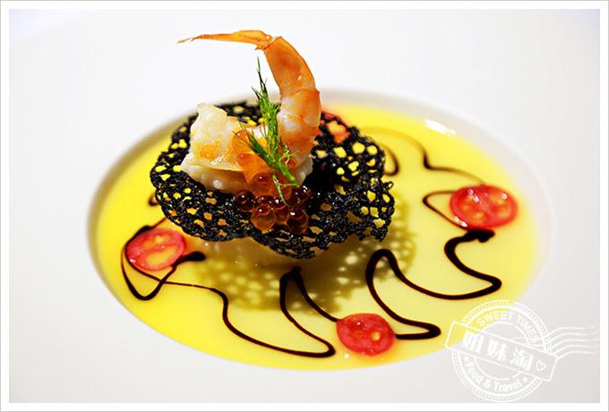 新國際西餐廳威尼斯海味慕斯