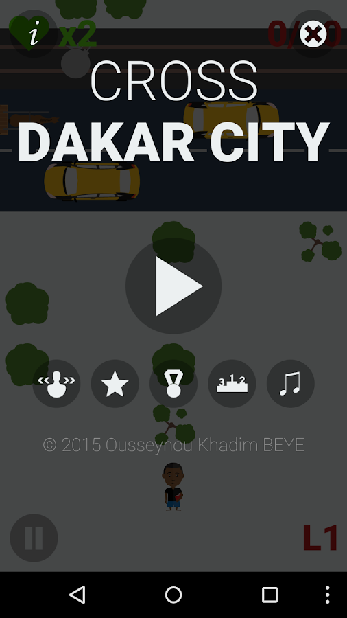 Cross Dakar City- screenshot