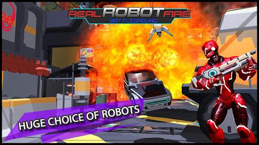 vraie guerre de feu robotique: tir libre scifi  captures d'écran 1