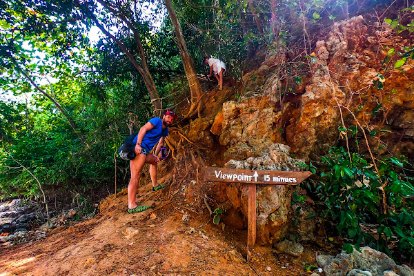 Hike up to the top of Koh Nok