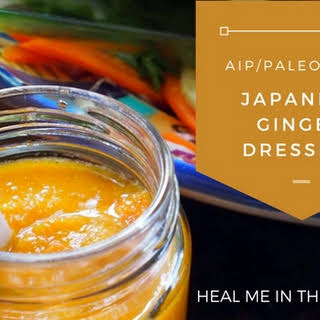 AIP/ Paleo Japanese Ginger Salad Dressing.