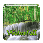 Nature waterfall HD wallpaper
