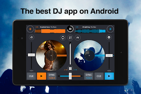 Cross DJ Pro- screenshot thumbnail