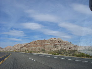 Photo: On the road to Death Valley