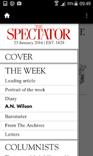 The Spectator Magazine- screenshot thumbnail