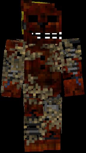 Fortnite Minecraft Skin