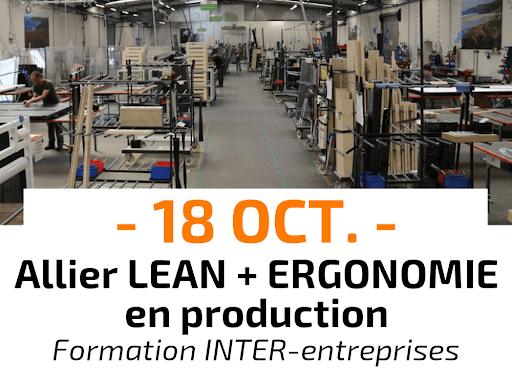 Allier Lean et Ergonomie en production Formation Inter-entreprises