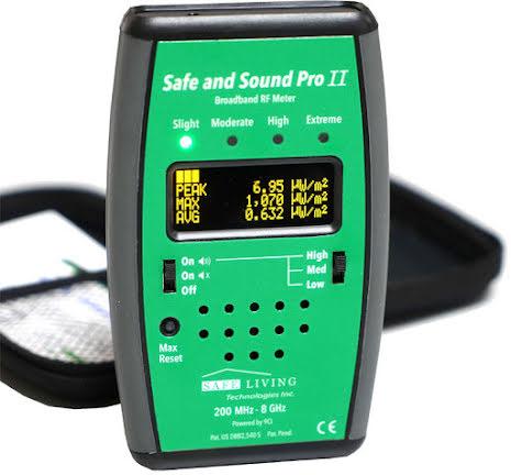 Hyra Safe and Sound Pro II Mikrovågsmätare