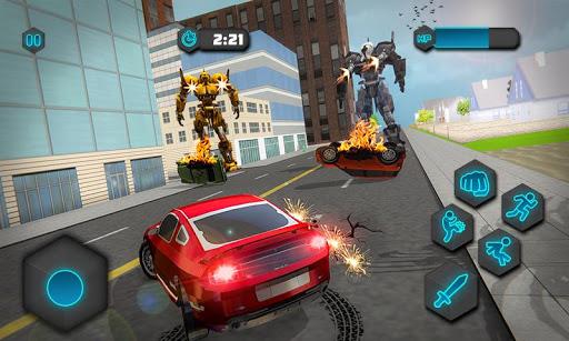 Dual Sword Hero Robot Transforming 3D screenshots 2