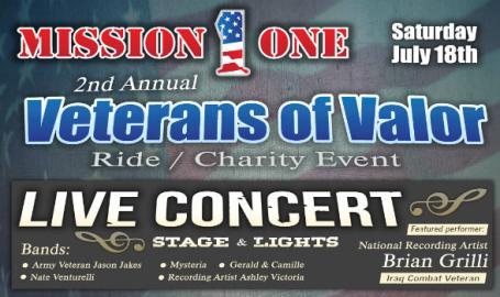 Veterans of Valor charity concert