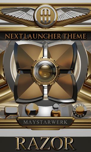 Next Launcher theme Razor