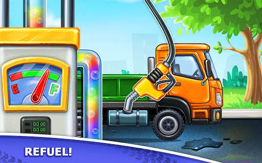 Truck games for kids - build a house, car wash 1.0.16 screenshots 9