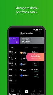 Blockfolio - Bitcoin-Ticker | Kryptowährungskurse Screenshot
