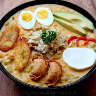 Fanesca or Ecuadorian Easter soup.
