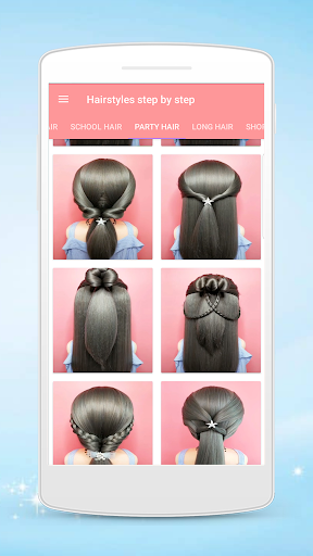 Hairstyles step by step for girls