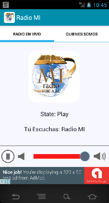 Radio MI- screenshot