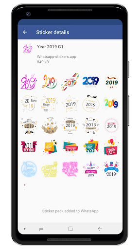 Stickers 2019 1.0.5 screenshots 1
