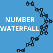 Number Waterfall