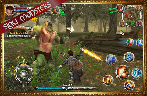 Kingdom Quest Crimson Warden 3D RPG 1.25 screenshots 2