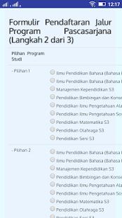 Penerimaan Mahasiswa UNNES- screenshot thumbnail