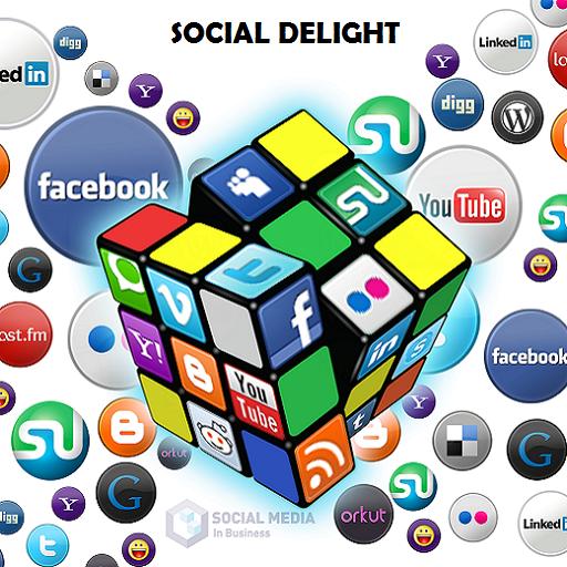 Social Delight - 8 in 1 Social Network