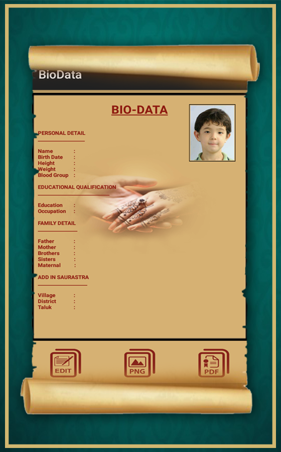 bio data maker android apps on google play