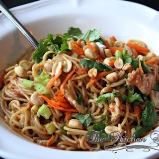 Thai Peanut Sauce Noodles Chicken Recipes