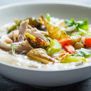 Turkey Jook (Rice Porridge)