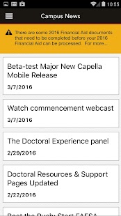 Capella Mobile - náhled