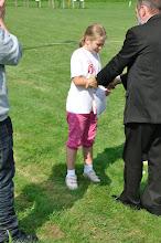 """Photo: Laureaci w kategorii wiekowej """"dzieci młodsze"""". Mistrzostwa Małopolski Dzieci i Młodzików 2011 (Dobczyce, 16.08.2011)"""