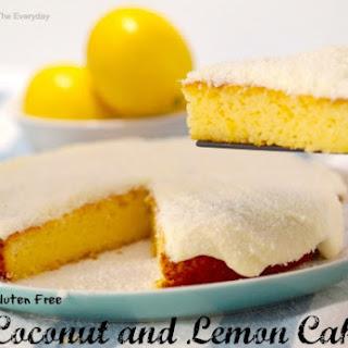 Gluten Free Coconut and Lemon Cake !.