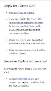 USA Green Card Apply - náhled
