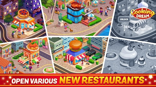 Cooking Dream: Crazy Chef Restaurant cooking games 9