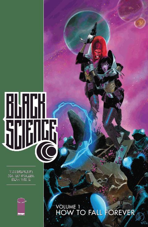 La copertina del primo volume di Black Science