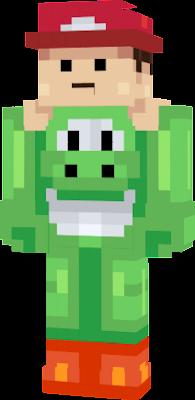 Yoshi Nova Skin - Yoshi skin fur minecraft pe