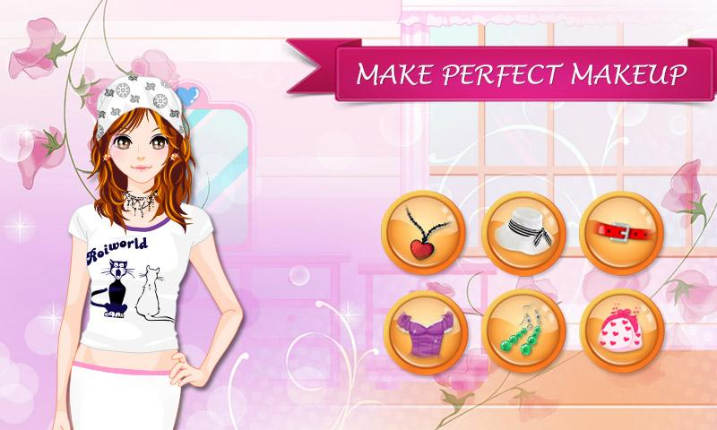 android Young Lady: Makeover Game Screenshot 1