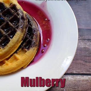 Make Your Own Mulberry Syrup