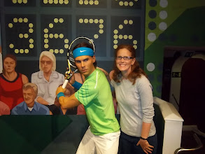 Photo: Cathi loves Nadal.